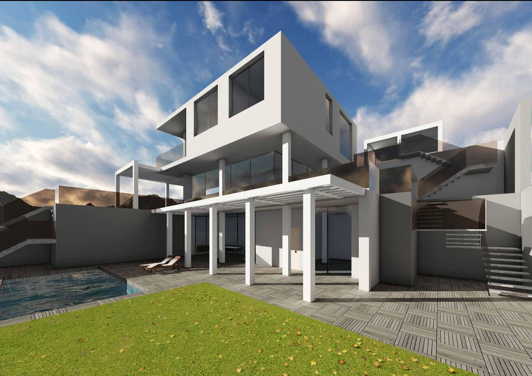 Villas de lujo en m laga manuel navarro arquitecto - Arquitectos en malaga ...