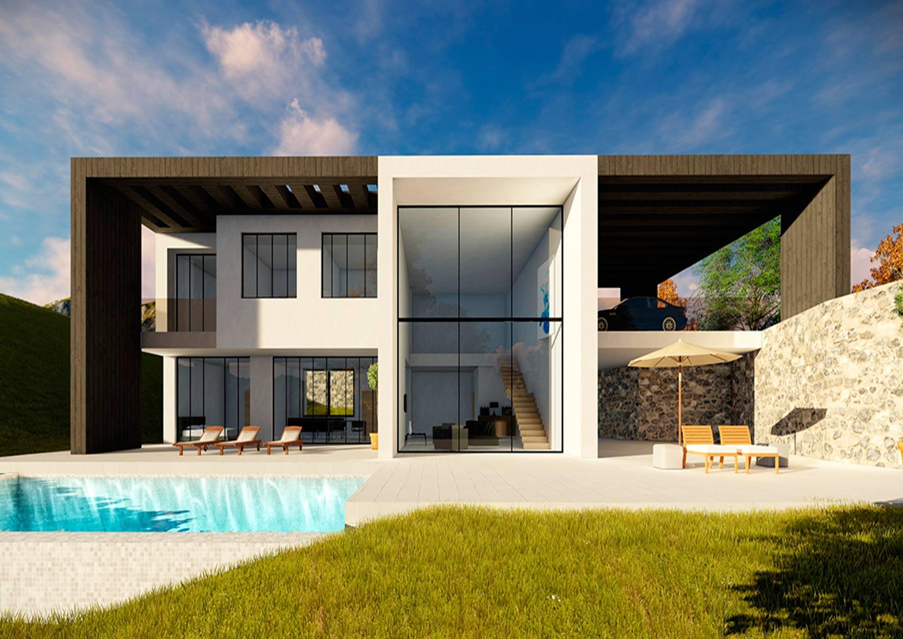 Arquitecto casas de lujo