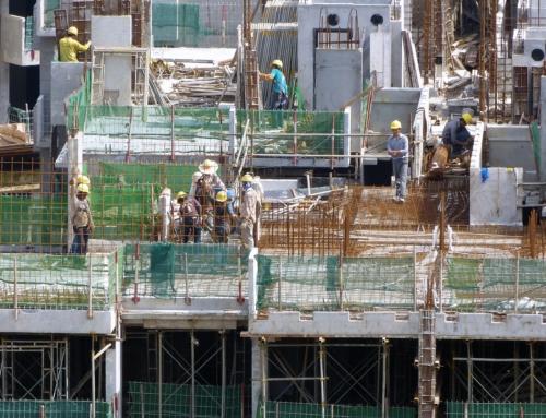 La construcción en Málaga durante el último mes del año