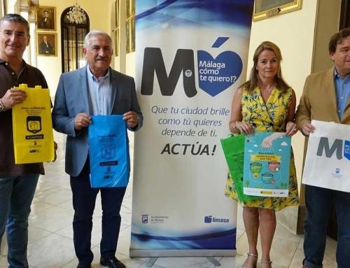 'Menos bolsas, más vida', por el medioambiente de Málaga