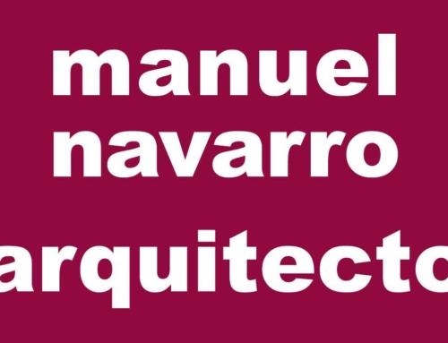 El estudio Manuel Navarro Arquitecto celebra su tercer aniversario
