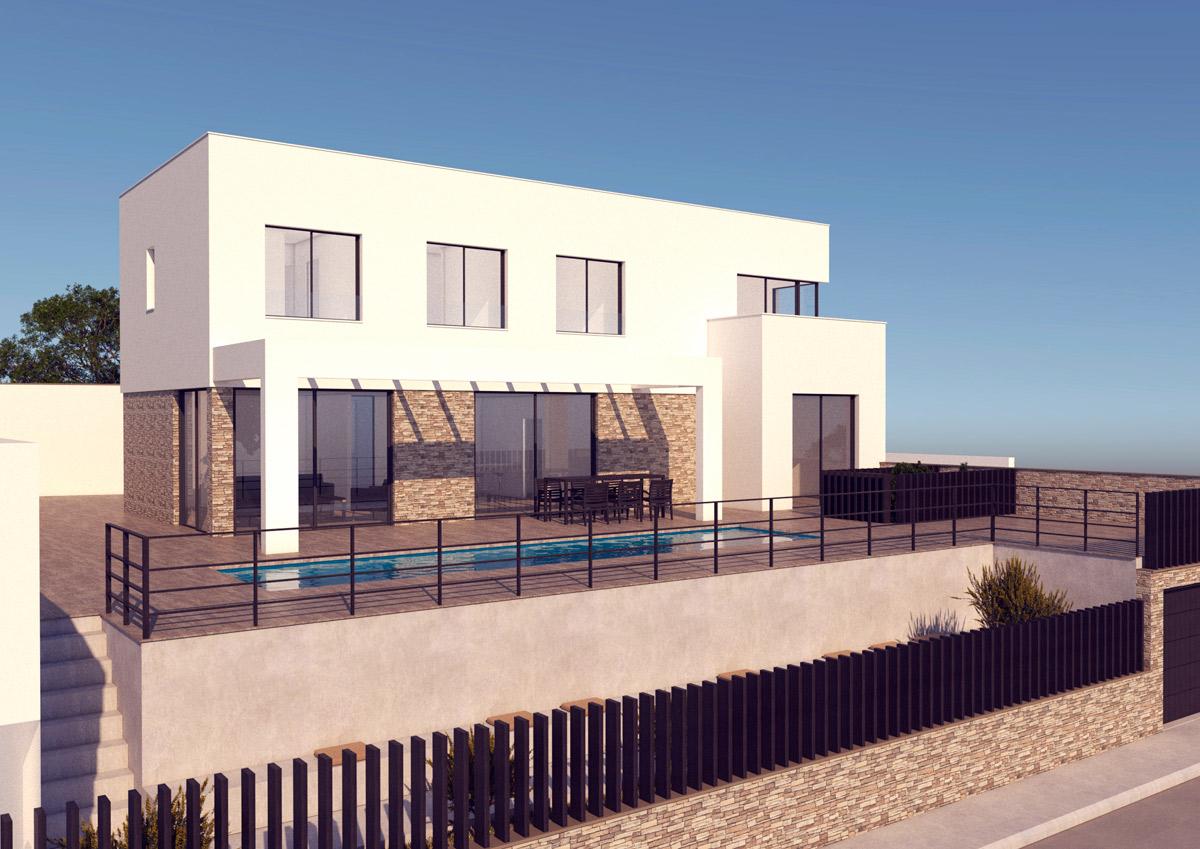 Proyecto de vivienda en Coín