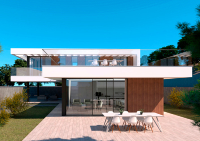 Arquitectura de viviendas en Mijas