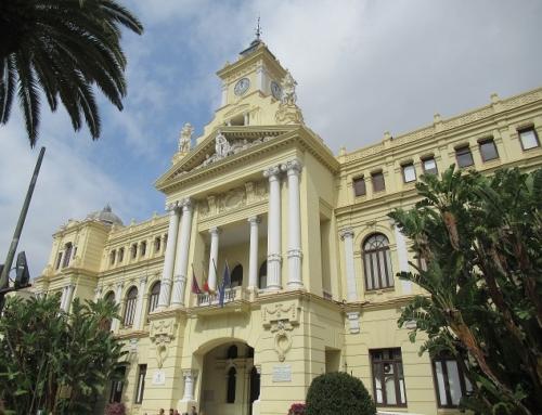 100 años del ayuntamiento de Málaga
